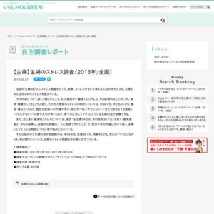 【主婦】主婦のストレス調査(2013年/全国)