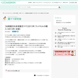 【幼稚園児&保育園児ママ】ランドセルの購入(2013年/全国)