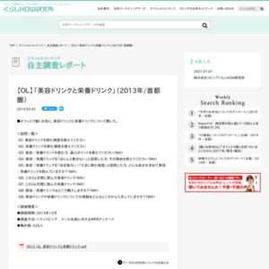 【OL】「美容ドリンクと栄養ドリンク」(2013年/首都圏)