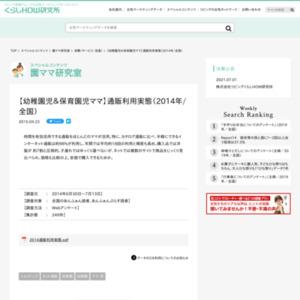 【幼稚園児&保育園児ママ】通販利用実態(2014年/全国)