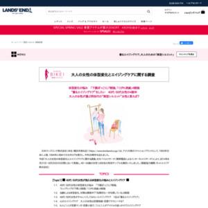 大人の女性の体型変化とエイジングケアに関する調査
