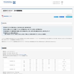 北京オリンピック 日中意識調査