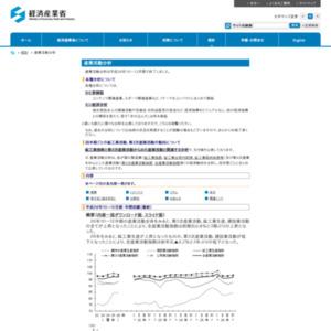 産業活動分析(平成26年10~12月期(年間回顧))