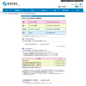 経済産業省生産動態統計速報 (平成27年5月分)
