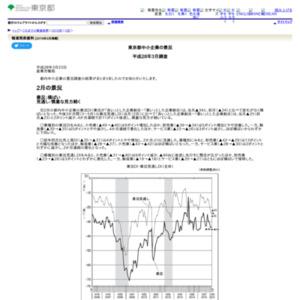 東京都中小企業の景況 平成28年3月調査