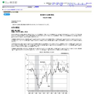 東京都中小企業の景況 平成28年7月調査