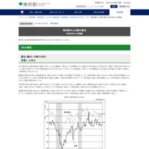 東京都中小企業の景況 平成28年10月調査