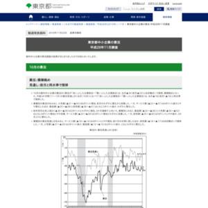 東京都中小企業の景況 平成28年11月調査