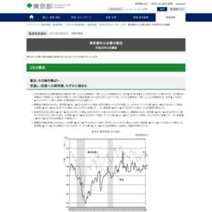 東京都中小企業の景況 平成29年3月調査