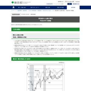 東京都中小企業の景況 平成30年1月調査