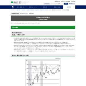 東京都中小企業の景況-平成30年3月調査