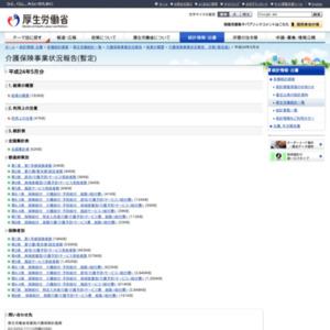 介護保険事業状況報告(暫定)(平成24年5月分)