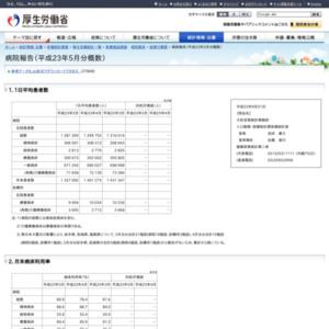 病院報告(平成23年5月分概数)