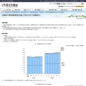 介護給付費実態調査月報(平成23年7月審査分)