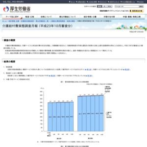 介護給付費実態調査月報(平成23年10月審査分)