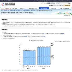 介護給付費実態調査月報(平成24年4月審査分)