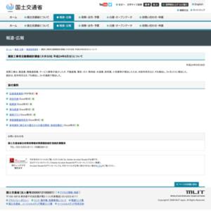 建設工事受注動態統計調査(大手50社 平成24年8月分)