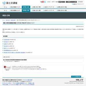 建設工事受注動態統計調査(大手50社 平成24年12月分)