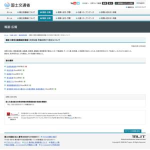 建設工事受注動態統計調査(大手50社 平成25年11月分)