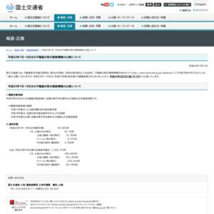 平成23年7月~9月分の不動産の取引価格情報の公表