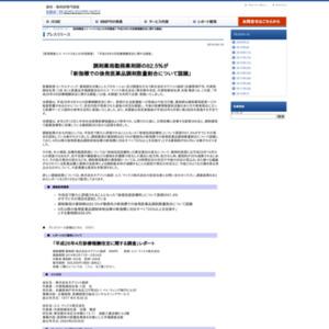 平成26年4月診療報酬改定に関する調査