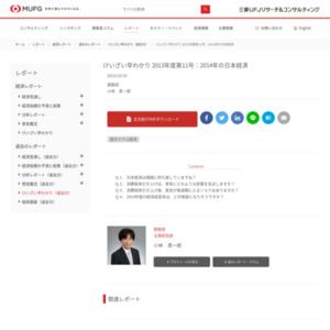 けいざい早わかり 2013年度第11号:2014年の日本経済