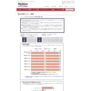 マイボイスコム オンラインショッピングの利用(11)