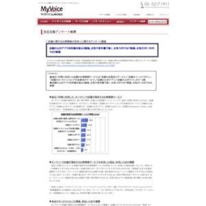 店舗に関するお得情報の利用に関するアンケート調査