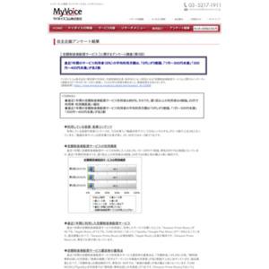 マイボイスコム 定額制音楽配信サービス(3)