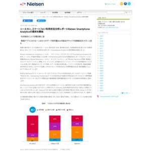 Nielsen Smartphone Analytics