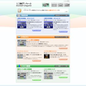 内閣支持率調査 2014/10/21