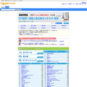 【IT業界】人気企業ランキング