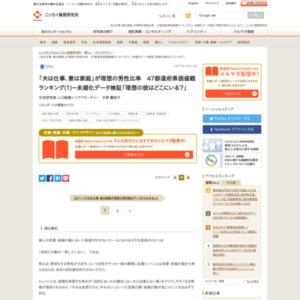 47都道府県価値観ランキング(1)