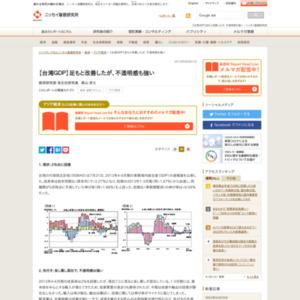 【台湾GDP】足もと改善したが、不透明感も強い