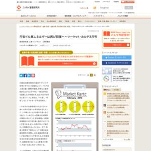 円安ドル高エネルギーは再び回復へ~マーケット・カルテ3月号