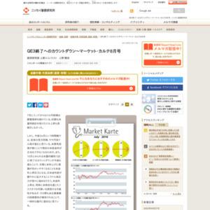 QE3終了へのカウントダウン~マーケット・カルテ2014年8月号