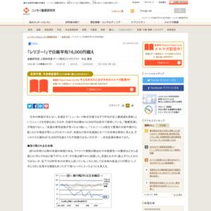 「レリゴー!」で日経平均16,000円超え