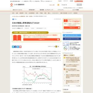 日米の物価上昇率逆転をどうみるか