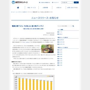 職業分類「うどん・そば店」は、香川県がトップに!