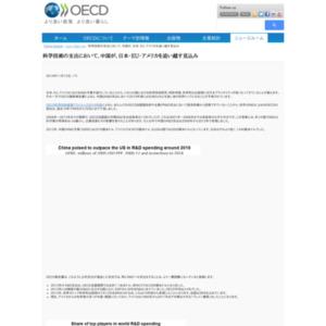 OECD科学技術産業アウトルック2014年版