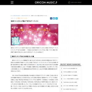 """音楽ファン2万人が選ぶ""""好きなアーティストランキング""""2014"""