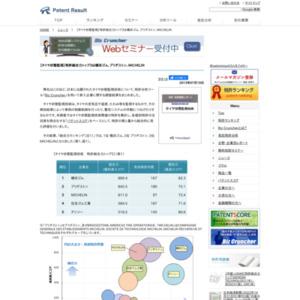 タイヤ状態監視技術、特許総合力トップ3は横浜ゴム、ブリヂストン、MICHELIN
