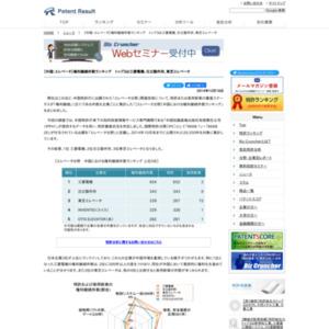 【エレベータ分野】中国における権利継続件数ランキング、トップ3は三菱電機、日立製作所、東芝エレベータ