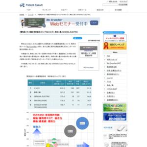 電気脱イオン装置関連技術 特許総合力ランキングトップ3はオルガノ、栗田工業、GENERAL ELECTRIC