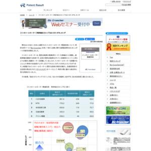 インホイールモーター関連技術、特許総合力トップ3はトヨタ自動車、NTN、本田技研工業