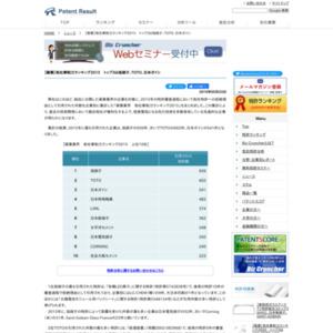 【窯業業界】他社牽制力ランキング2015トップ3は旭硝子、TOTO、日本ガイシ