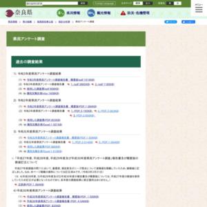 奈良県民アンケート 買物やサービスの利用