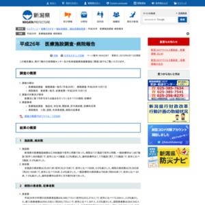 平成26年 医療施設調査・病院報告