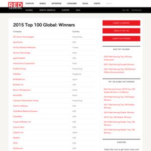 Red Herring names 2015 Global Top 100 winners