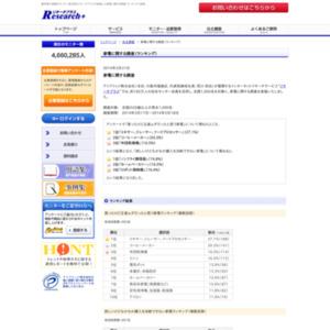 家電に関する調査(ランキング)